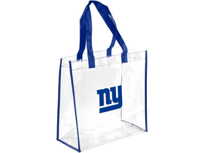 New York Giants Clear Reusable Bag