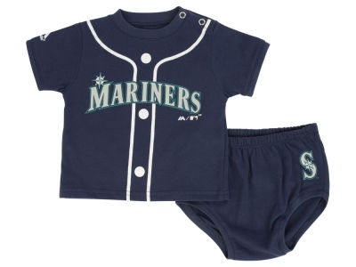 Seattle Mariners MLB Newborn Little Player Set