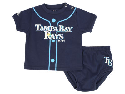 Tampa Bay Rays MLB Newborn Little Player Set
