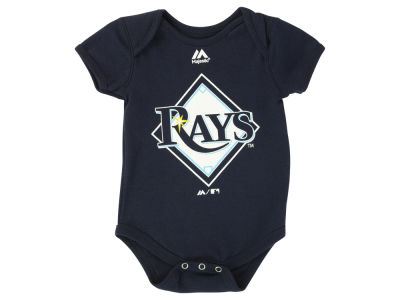 Tampa Bay Rays MLB Newborn Primary Logo Creeper Onesie