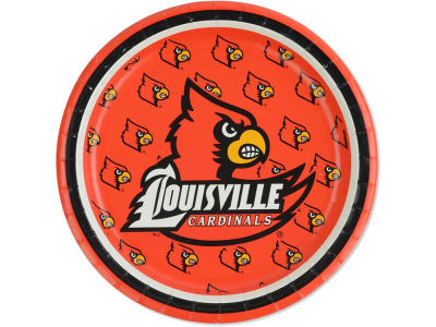"Louisville Cardinals 8ct. 7"" Lunch Plates"