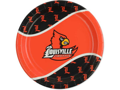 Louisville Cardinals 8 Count 9 Inch Dinner Plate