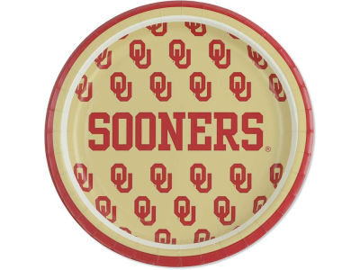 "Oklahoma Sooners 8ct. 7"" Lunch Plates"