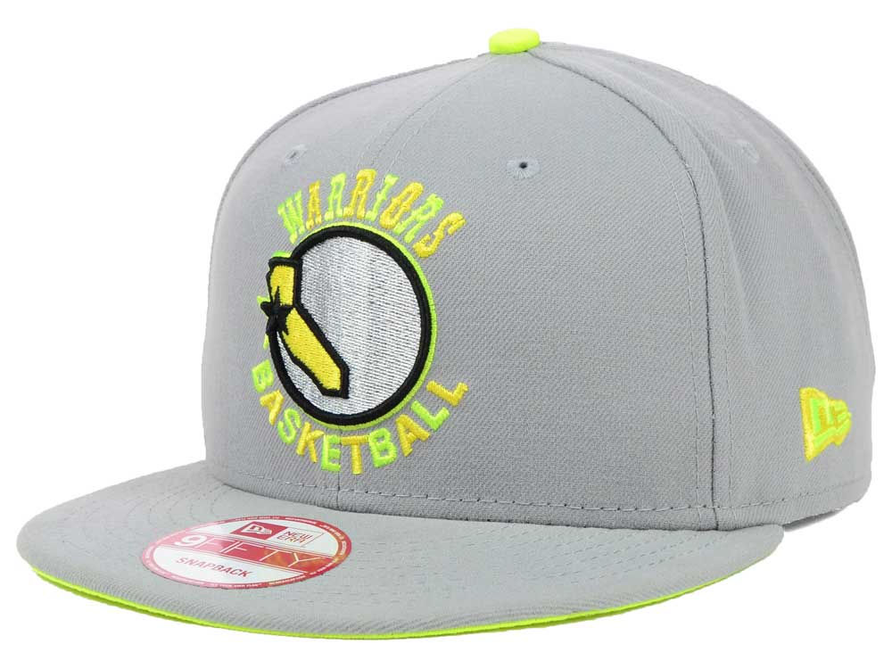 online retailer 1d4e1 6e1ed ... czech golden state warriors new era nba hardwood classics neon time  9fifty snapback cap 4d40b 8ffba
