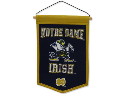 Notre Dame Fighting Irish Winning Streak Traditions Banner