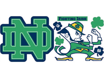 Notre Dame Fighting Irish XL Decal Pack