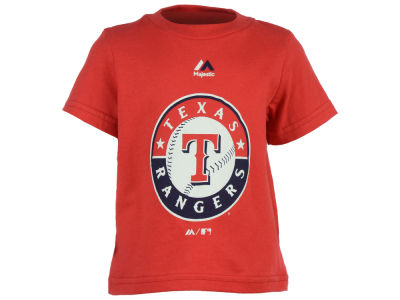 Texas Rangers MLB Infant Primary Logo T-Shirt