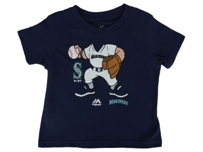 Seattle Mariners MLB Toddler Pint Sized Pitcher T-Shirt