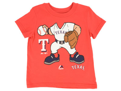 Texas Rangers MLB Toddler Pint Sized Pitcher T-Shirt