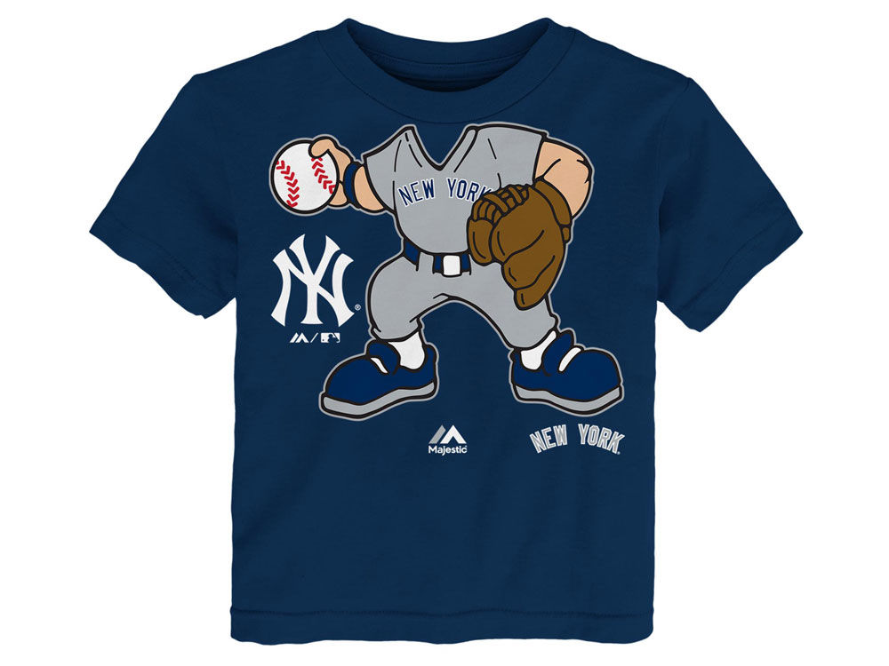 08ffe1be8 New York Yankees Majestic MLB Toddler Pint Sized Pitcher T-Shirt ...