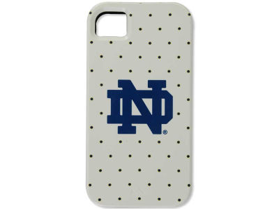 Notre Dame Fighting Irish Iphone 4 Dots Print Case