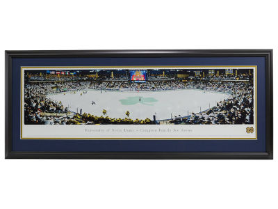 Notre Dame Fighting Irish Panoramic Deluxe Framed