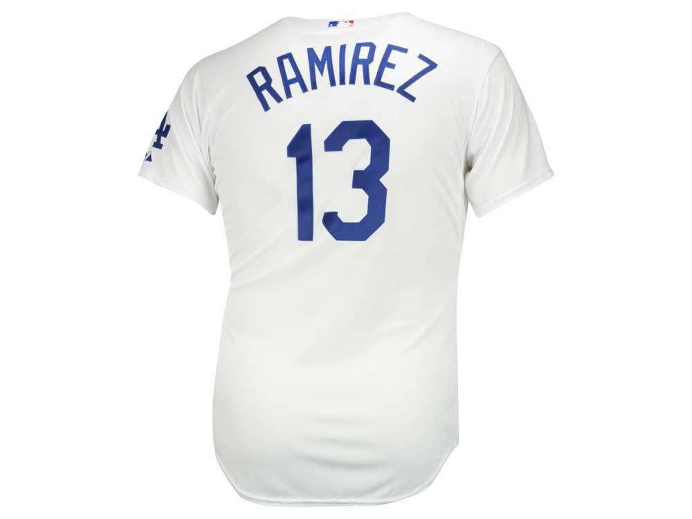 Los Angeles Dodgers Hanley Ramírez Majestic MLB Men s On Field Player Jersey   69b579dae3f