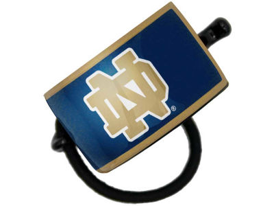 Notre Dame Fighting Irish Curved Ponytail Holder