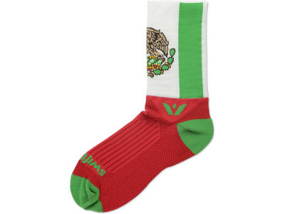 Mexico Flag Swiftwick Socks