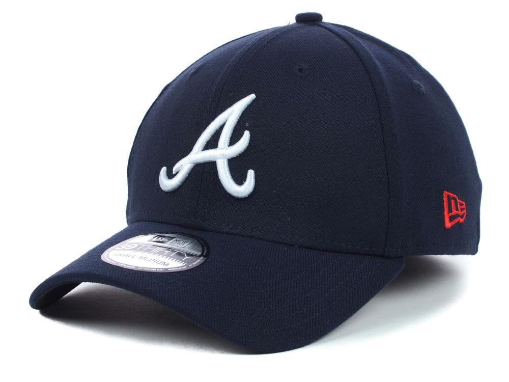 Atlanta Braves New Era MLB Team Classic 39THIRTY Cap c9b6b52cb96