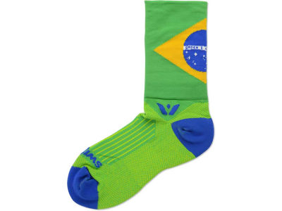 Brazil Flag Swiftwick Socks