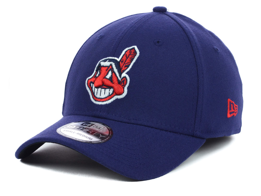 aa86de14833 Cleveland Indians New Era MLB Team Classic 39THIRTY Cap