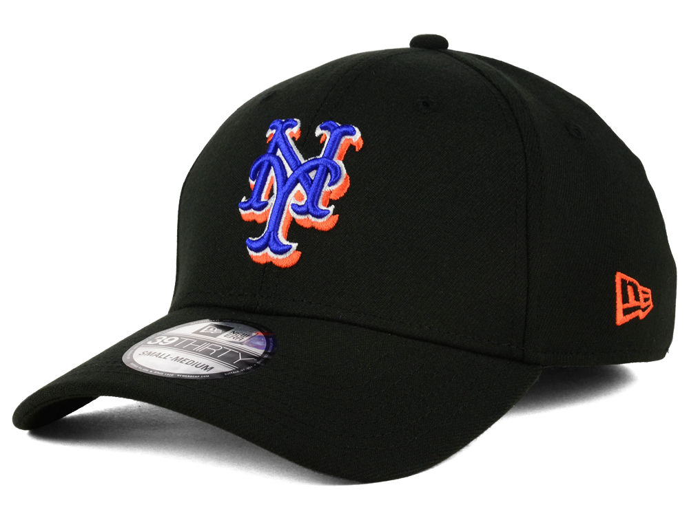 New York Mets New Era MLB Core Classic 39THIRTY Cap  da64d47038e