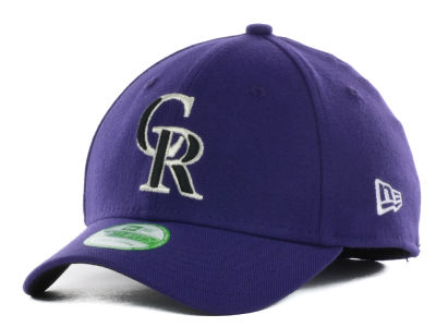Colorado Rockies New Era MLB Junior Team Classic 39THIRTY Cap