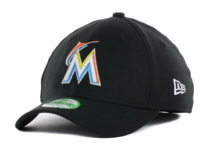 Miami Marlins New Era MLB Junior Team Classic 39THIRTY Cap