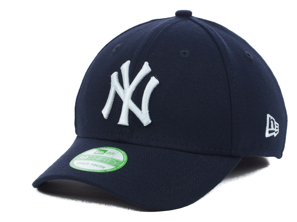 New York Yankees New Era MLB Junior Team Classic 39THIRTY Cap  8175e6debb6