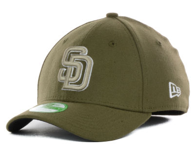 San Diego Padres New Era MLB Junior Team Classic 39THIRTY Cap