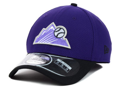 Colorado Rockies New Era MLB Diamond Era 2 Tone 39THIRTY Cap