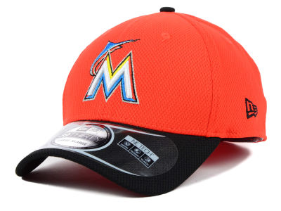 Miami Marlins New Era MLB Diamond Era 2 Tone 39THIRTY Cap