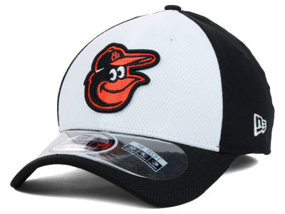 Baltimore Orioles New Era MLB Diamond Era White Front 39THIRTY Cap