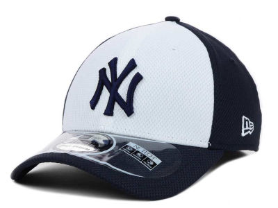 New York Yankees New Era MLB Diamond Era White Front 39THIRTY Cap