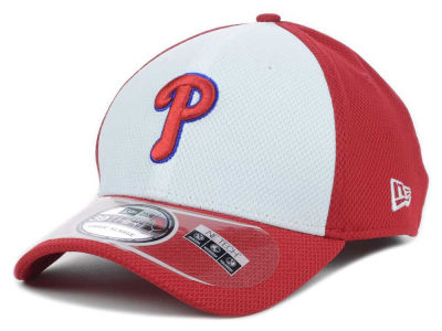 Philadelphia Phillies New Era MLB Diamond Era White Front 39THIRTY Cap