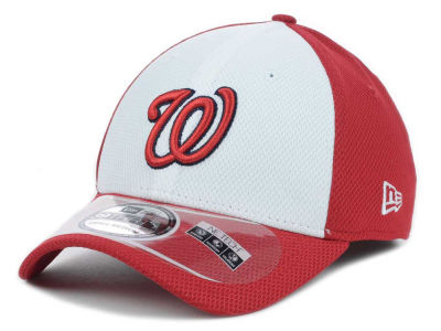 Washington Nationals New Era MLB Diamond Era White Front 39THIRTY Cap