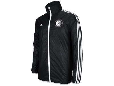 Brooklyn Nets adidas NBA Embossed Lightweight Jacket