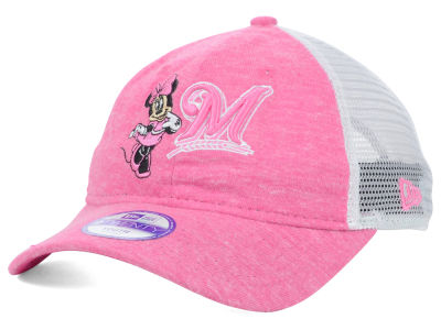 Milwaukee Brewers New Era MLB Disney Tykes Trucker 9TWENTY Cap