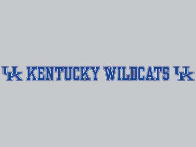 Kentucky Wildcats Long Decal