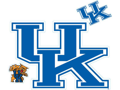 Kentucky Wildcats Moveable 8x8 Decal Multipack