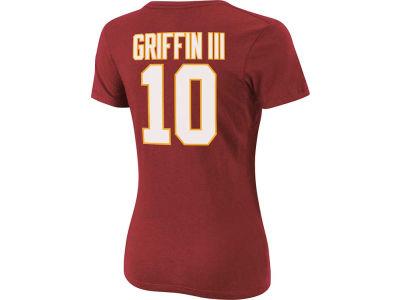 64f5307f3 Washington Redskins Robert Griffin III NFL Womens Fair Catch Player T- Shirt  Nike ...