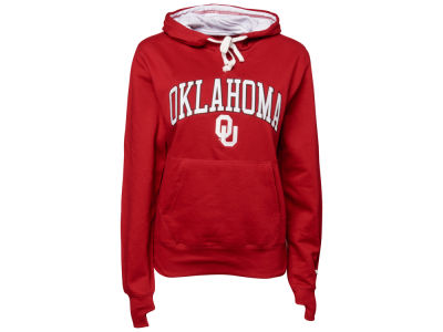 Oklahoma Sooners NCAA Ladies Tackle Twill Hoodie