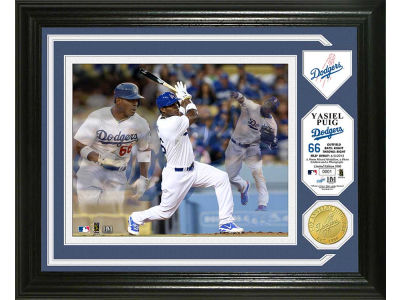 Los Angeles Dodgers Yasiel Puig Photo Mint Coin-Bronze