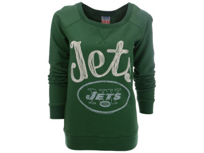 New York Jets NFL Womens Field Goal Fleece Crew