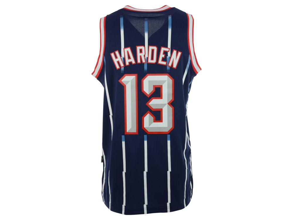 Houston Rockets James Harden adidas NBA Revolution 30 Hardwood Classics  Swingman Jersey fb6fb317e