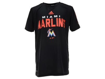 Miami Marlins MLB Youth Batter Climalite T-Shirt