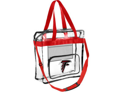 Atlanta Falcons Clear Messenger Bag w/ Pocket