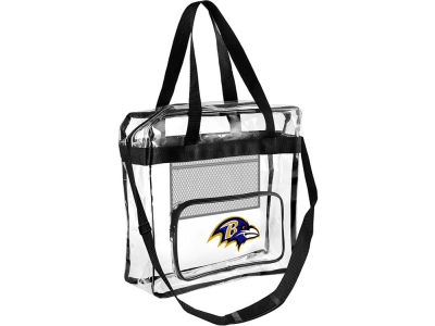 Baltimore Ravens Clear Messenger Bag w/ Pocket