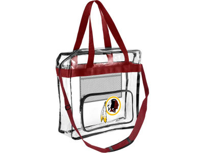 Washington Redskins Clear Messenger Bag w/ Pocket