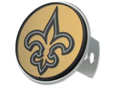 New Orleans Saints Laser Hitch Cover