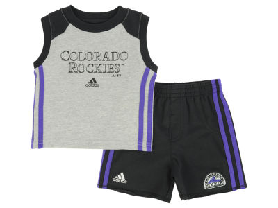 Colorado Rockies MLB Infant Base Hit Short Set