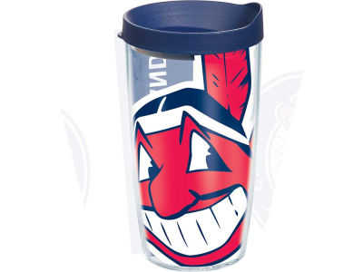 Cleveland Indians 16oz. Colossal Wrap Tumbler with Lid