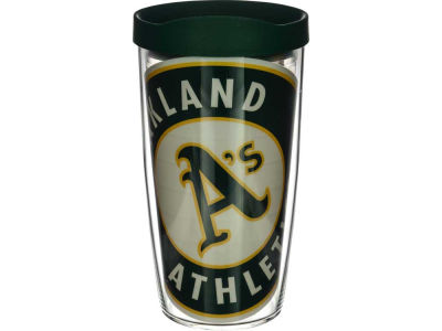 Oakland Athletics 16oz. Colossal Wrap Tumbler with Lid